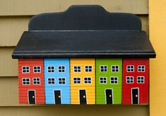 Outdoor Projects, Wood Projects, Projects To Try, Outdoor Decor, Home Crafts, Diy And Crafts, Painted Mailboxes, Newfoundland, Jelly Beans