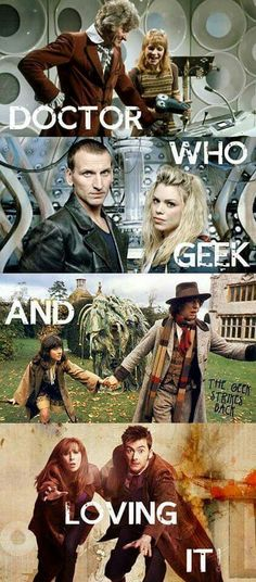 Proud Doctor Who geek!!!!