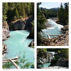 Joy Konieczka hikes and describes the Train Wreck Trail, a mile hike along the Cheakamus River in Whistler, Canada. The Places Youll Go, Great Places, Places To Visit, Tahoe Ski Resorts, Canada Travel, Canada Trip, Winter Scenes, The Great Outdoors, Santa Cruz