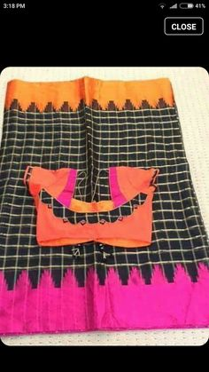 Patch Work Blouse Designs, Simple Blouse Designs, Stylish Blouse Design, Blouse Back Neck Designs, Cotton Saree Blouse Designs, Kurta Designs, Designer Blouse Patterns, Sumo, Blouse Models