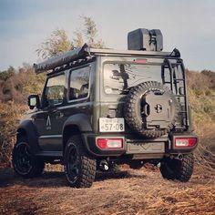 #adventure #冒険 #jimny #JB74 #新型ジムニー #アピオ #アピオジムニー #apio #ロトパックス #rotopax #frontrunner #フロントランナー #リアラダー #ジムニーパーツ #カスタム #ジムニーカスタム #jimnylife #ジムニーライフ Suzuki Jimny Off Road, New Suzuki Jimny, Jimny 4x4, Adventure 4x4, Jimny Sierra, Suzuki Cars, Mini Trucks, Jeep Wrangler, Land Cruiser