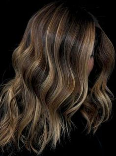 41 Beautiful Brunette Balayage Hair Color Ideas