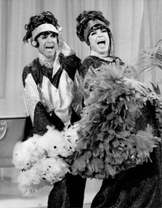 Alan Sues  Jo Anne Worley. I just love this picture ! Want to blow it up to an 8 x 10  ! ! !