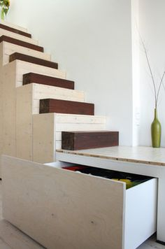 The home of Fabiana and Rocco modern staircase