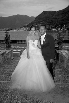 Chrissy Teigen & John Legend's first wedding photos
