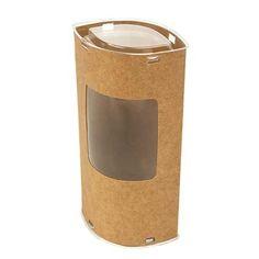 Kraft paper oval gift box