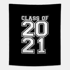 Class of 2021 Senior Graduation Design - Class Of 2021 - Home Decor Wall Tapestry Graduation Cap Drawing, Senior Trip, Senior Year, Tapestry Design, Wall Tapestry, High School Graduation Gifts, Senior Gifts, Cool Notebooks, Class Of 2020