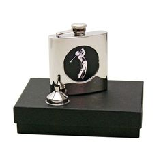 Golf Flask @USHoleInOne Gifts For Golfers, Golf Gifts, Engraved Gifts, Flask, Perfume Bottles, 21st, Christmas Gifts, Gift Ideas, Birthday