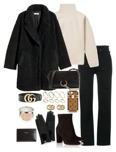 """""""Untitled #4893"""" by theeuropeancloset on Polyvore featuring RE/DONE, Acne Studios, H&M, Chloé, Louis Vuitton, Gianvito Rossi, ASOS, Gucci, Yves Saint Laurent and Mulberry"""