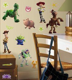 Toy Story Buzz, Toy Story 3, Toy Story Party, Toy Story Birthday, Birthday Ideas, Birthday Bash, Disney Wall Decals, Flower Wall Decals, Kids Wall Decals
