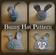 Chunky Bunny Beanie - Pattern #73 - Super Quick!
