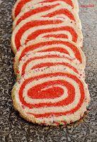 Kekse mit roter Glücksspirale - herzelieb