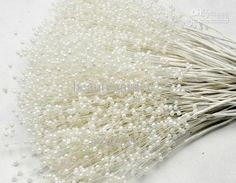 beads big on sale at reasonable prices, buy The Spray Of Pearl Beads Wire Stems,Bridal Hair Decoration accessories,Wedding Bouquet Charms,Artificial Flower Arranging from mobile site on Aliexpress Now! Wedding Bouquet Charms, Fall Wedding Bouquets, Fall Wedding Flowers, Wedding Flower Arrangements, Flower Bouquet Wedding, Pearl Bouquet, Diy Bouquet, Flower Bouquets, Pearl Centerpiece