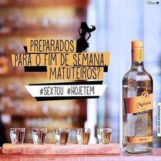 Prepara que agora é a hora mais esperada da semana. Quem vai tomar umas hoje comenta ai!!! #cachaçamatuta #soumatuteiro