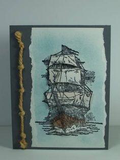 TLC162,  Paper Tole,  Ships Ahoy, CC159