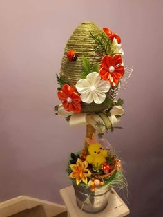 Faberge Eggs, Easter Crafts For Kids, Quilling, Easter Eggs, Primitive, Diy And Crafts, Wreaths, Home Decor, Make Art