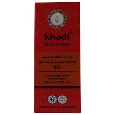 Khadi - Hair Colour Henna, Amla and Jatropha 100g * Want to know more, click on the image. (This is an affiliate link and I receive a commission for the sales)