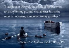 Cool Life of pi quote. Best Quotes Life Lesson Check more at bestquotes.name/. Life Of Pi Quotes, Book Quotes, Words Quotes, Sayings, Quote Life, Prozac Nation, Stuck In Love, Book Club Parties, Best Movie Quotes