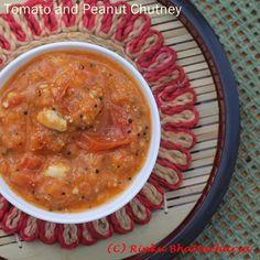 Tomato Peanut Chutney