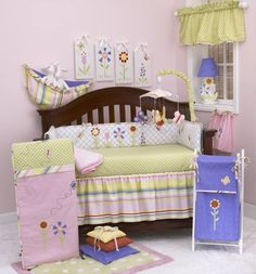 Spring Fling is quality baby bedding set. All Cotton Tale patterns are made using quality materials and are uniquely designed to create your perfect nursery.