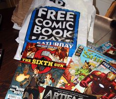 Five Tips to Help You Make the Most Out of Free Comic Book Day
