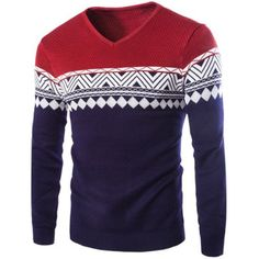 New Fashion Design Korean Style 2015 High Quality Male Wool Jacquard Sweater Men's Warm Pullover Sweater Knit Fashion, Sweater Fashion, Mens Fashion, Pullover Sweaters, Men Sweater, Sweaters For Women, Mens Pullover, Cardigans, Collar Styles