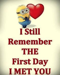 (To my beloved Hubby) Today Funny minions october 2015 quotes PM, Thursday October 2015 PDT) – 10 pics Minion Love Quotes, Minions Love, Minions Quotes, Cute Quotes, Funny Quotes, Happy Minions, Image Minions, Minions Images, Minion Humour