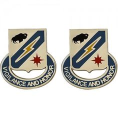 U.S. Army Special Troops Battalion, 3rd Brigade, 3rd Infantry Division Unit Crest (Vigilance and Honor)