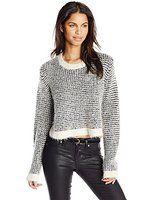 MINKPINK Women's Break Away V-Neck Sweater from $24.99 by Amazon BESTSELLERS