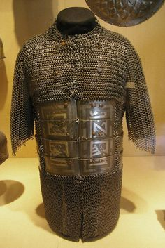 Shirt of mail and plateI Iran, Ak-Koyunlu period, late 15th century.  The Arabic inscription on the plates praises the ruler.