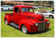 Hot Red Ford Truck by TheMan268.deviantart.com on @deviantART