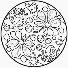 Ja som a la tardor. Aquí us deixo el recull que he anat fent de diferents activitats.  També podeu fer un cop d'ull al meu Pinterest  d'act... Mandala Coloring Pages, Coloring Book Pages, Coloring Sheets, Autumn Activities For Kids, Fall Crafts For Kids, Autumn Art, Autumn Theme, Tile Patterns, Embroidery Patterns