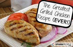 The Secret to Amazing Grilled Chicken |  via @SparkPeople #recipe #grill #food