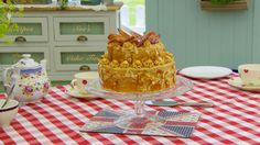 This dobos torte recipe is Mary's interpretation of the showstopper challenge in the Continental Cake episode of Season 1 of The Great British Baking Show.