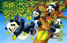 Tumble bears panda