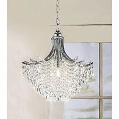 A girlie, sparkly, gorgeous chandelier for the upstairs bathroom. *Drool* $135.99