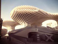Modern architecture in Seville, Spain: Las Setas de la Encarnación (Encarnación's mushrooms)