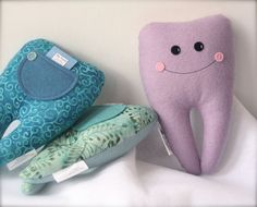 Limited Edition Tooth Fairy Pillow Buddy 7lavender by Hannalah, $12.00