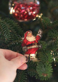 Shrinky dink ornaments