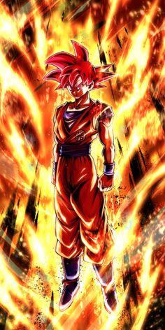 Super Saiyan God Son Goku art from Dragon Ball Legends Super Saiyan Goku, Dragon Ball Image, Dragon Ball Gt, Wallpaper Do Goku, Calendar Wallpaper, Foto Do Goku, Son Goku, Christmas Cactus, White Christmas