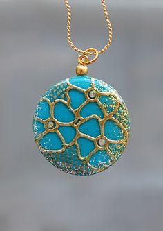 Polymer clay jewelery by Lesya Binkin - Gallery