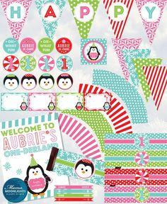 winter onederland first birthday | Winter OneDerland Fun To Be One First Birthday | party ideas