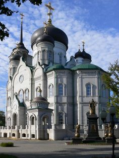 Cathedral of the Annunciation.  the city of Voronezh. Russia.