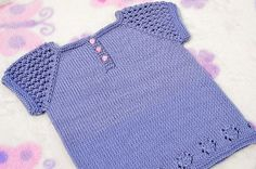 Ravelry: Three-Buttons Sun Top pattern by Christy Hills