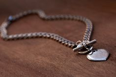 Silver NecklaceSilver Heart CharmHeart Charm by TytunovichJewelry