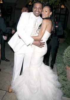 Mekhi Phifer and Reshelet Barnes tied the knot at the Montage Hotel in Beverly Hills on March 30, 2013.