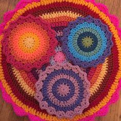 Gwynneth crochet mandalas for marinke