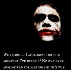 the joker and harley quinn love quotes Joker Quotes, Movie Quotes, Life Quotes, Qoutes, Quotations, Cocky Quotes, Batman Quotes, Quotable Quotes, Relationship Quotes