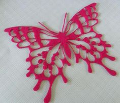 handcrafted butterflies - May 15 25 <3