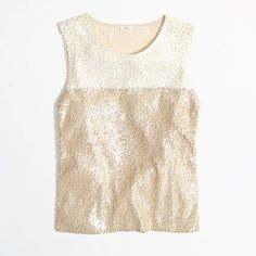 [Colorblock Sequin Tank by J. Crew]